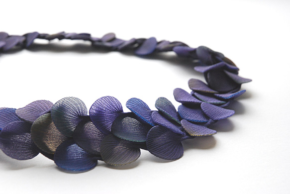 "Necklace ""small petals"""